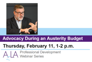 February 2021 PD - Advocacy During an Austerity Budget