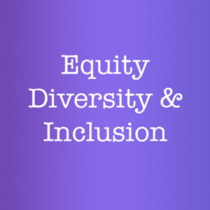 Group logo of Equity, Diversity, & Inclusion Committee
